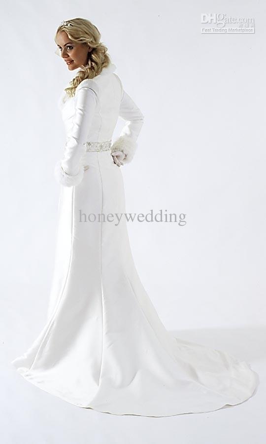 حار بيع مخصص جديد نمط الديكور الطابق طول سترات الزفاف bridal بوليرو مع كم طويل شحن مجاني DH6622