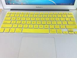 """para 11 """"12"""" 13 """"15"""" 17 """"Apple MacBook Air PRO retina Protector de teclado a prueba de polvo del teclado de silicona suave ningún paquete moq400 desde fabricantes"""