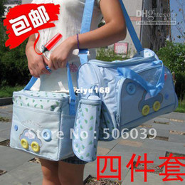 Wholesale Mummy Bag Set Pieces - Wholesale - Multifunctional nappy bag piece set mummy bags 4 parent-child