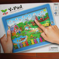 Vente en gros - ordinateur de table ipad shiping apprentissage Machine Y - pad intéressant ferme enfant apprentissage machine en jeu gratuit