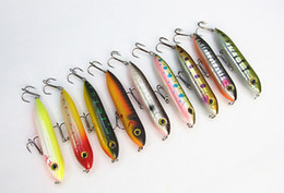 $enCountryForm.capitalKeyWord Canada - 9.2cm 13g Fishing Lure Pencil Shape Bait Minnow Lure Hard Plastic Bait Fishing Tackle China Hook Casting Spinner Bait Floating