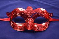 Wholesale venetian mask supplies resale online - Mardi Gras Costume Masquerade Venetian Half Mask Promotion Party Mask Venetian masquerade party supply Hallween prop mask