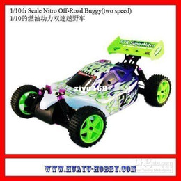 Wholesale Engine Airplane Nitro - Wholesale - 1 10th Scale vx18 Nitro engine Off-Road Buggy (two speed) Toys car 94106 RTR