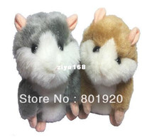 Wholesale Talking Moving Hamster - Wholesale - Hot sale 1 piece Mimicry Pet Talking Hamster and moving Hamster talking Plush Toy,repeat any languag