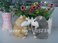 Wholesale Takara Tomy Toy - Wholesale - Free shipping Takara Tomy Mimicry Pet Hamster Talking Plush Toy