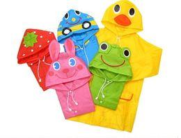 mustermodellierung Rabatt Großhandel - Beispiel Ordnung Kinder Tiermodell Regenmantel Kinder Regenmantel Jungen Mädchen Regencape Wasserdichte Mäntel
