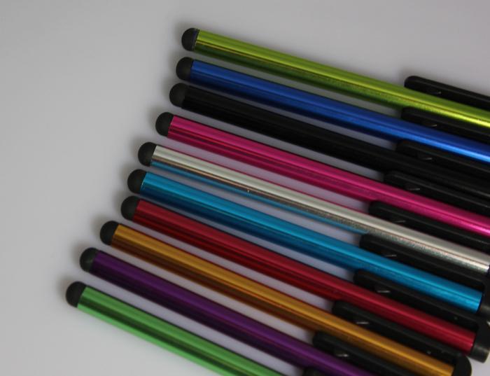 Preiswerteste kapazitive Stift-Schirm-Noten-Feder für iphone 5 s Samsung Galaxy s4 s5 Note3 Handy-freies Verschiffen