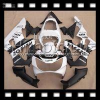 schwarze cbr 929 verkleidung großhandel-7gifts Für HONDA 00 01 CBR 929 929RR Repsol Weiß CBR929RR 900RR Kostenlos Angepasst HL6547 CBR900RR 2000 2001 CBR929 RR Schwarz Weiß ABS Verkleidung