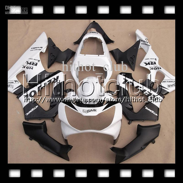 7gifts For HONDA 00 01 CBR 929 929RR Repsol White CBR929RR 900RR Free Customized HL6547 CBR900RR 2000 2001 CBR929 RR Black white ABS Fairing