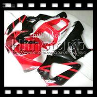 honda cbr 929 обтекатель красный оптовых-7gifts бесплатный Подгонянный для Honda CBR929RR красный черный 00 01 ЦБ РФ 900RR CBR900RR CBR929 929 929RR HL6515 рублей 2000 2001 горячий красный глянец Зализа тело