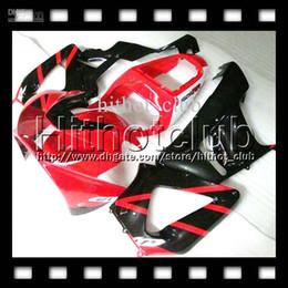 Wholesale Honda Cbr 929 Fairings Red - 7gifts Free Customized For HONDA CBR929RR Red black 00 01 CBR 929 929RR HL6515 900RR CBR900RR CBR929 RR 2000 2001 HOT Gloss red Fairing Body