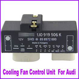 Wholesale Volkswagen Cabrio - Cooling Fan Unit Module Control Switch Relay Radiator 1J0919506K For For VW Golf Jetta Beetle