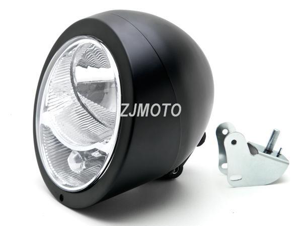 Custom Motorcycle Black Mini LED License Plate Light For Honda Kawasaki Suzuki