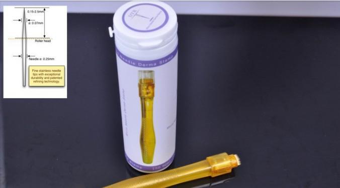 チタン針DermaスタンプDermaroller 35針Dermaローラー0.2 / 0.25 / 0.3 / 0.5 / 0.75 / 1.0 / 1.5 / 2.0 / 2.5 / 3.0mm