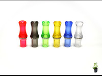 Wholesale Ego Ce5 Drip Tip Clear - Clear Solid ego Mouthpiece Drip for Electronic Cigarette for CE4 CE5 Clearomizer e cigarettes Head Tips Various Colors DHL Free Shipping