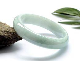 "Wholesale Ice Jade Bangle - NATURE GRADE ""A ""BEAUTIFUL GREEN JADE JADEITE BRACELET ICE OF BANGLE"