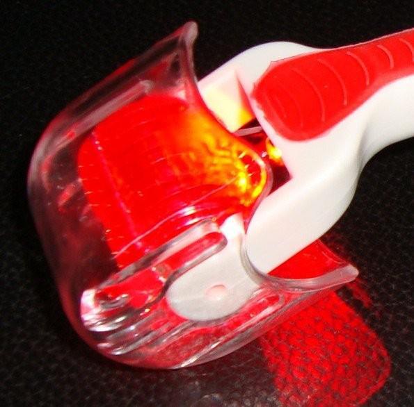 540 Nadeln RED Light LED Derma Skin Roller Titan Microneedle-Dermapen Store