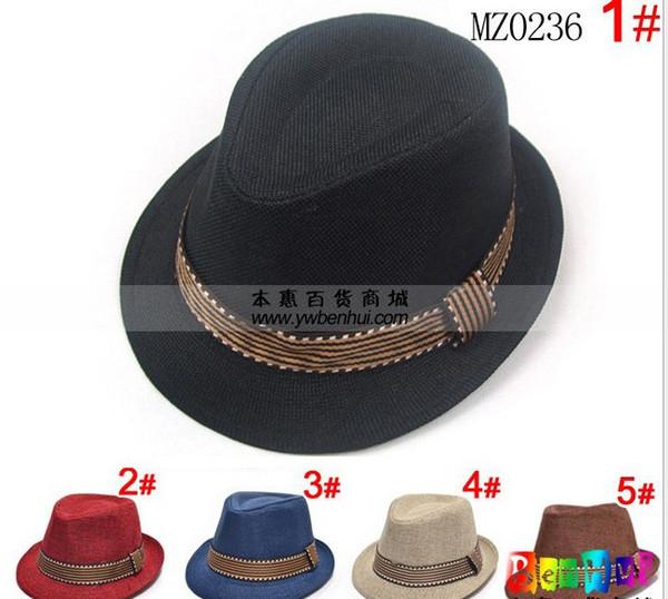 Venda por atacado - Baby Kids infantil Caps acessórios chapéu meninos grils chapéus chapéu fedora, 10pcs / lot, dandys
