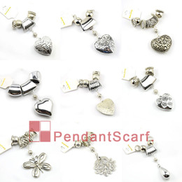 Wholesale Diy Jewellery Set - 18PCS LOT Hot Selling Fashion 9 Designs Mixed DIY Necklace Jewellery Scarf Findings Accessories Charm Pendant Set, Free Shipping, AC18MIX
