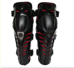 Wholesale Pe Gear - Red riding kneecap  Mechanical knee   motorcycle protective gear   racing knee kneelet canions Kneepad with PE shell and EVA cushion