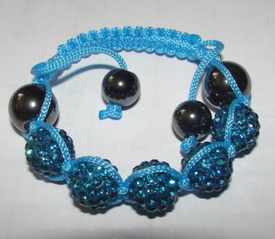 2018 neue Mode Kinder Baby Kinder Armband 10mm Kristall Disco Kugel Perle Bunte Braid Freundschaft Armbänder
