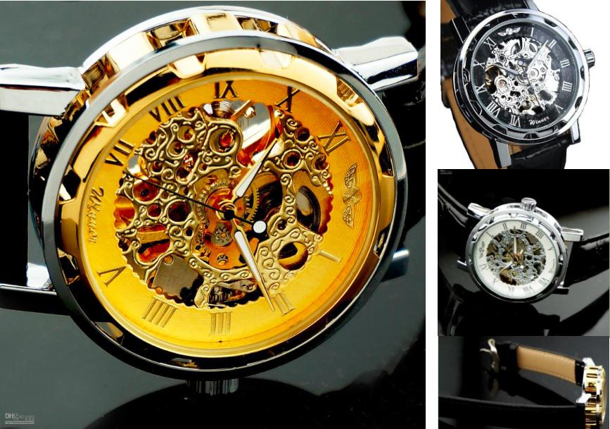 Winner luxury skeleton automatic