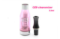 Wholesale E Cigarette Atomizer Ce9 - 2013 newest E Cigarette Changeable oil head Clear EGO D5 CE4 CE5 CE6 CE8 CE9 clearomizer Electronic Cigarette atomizer for 510 ego t battery
