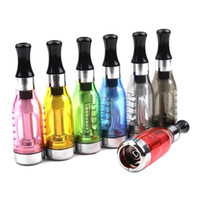 Wholesale Ego C Upgrades - upgraded ce8 ce9 clearomizer Electro with 7 different colors 5.0ml Atomizer compatible with 510, eGo,eGo-T,eGo-C battery