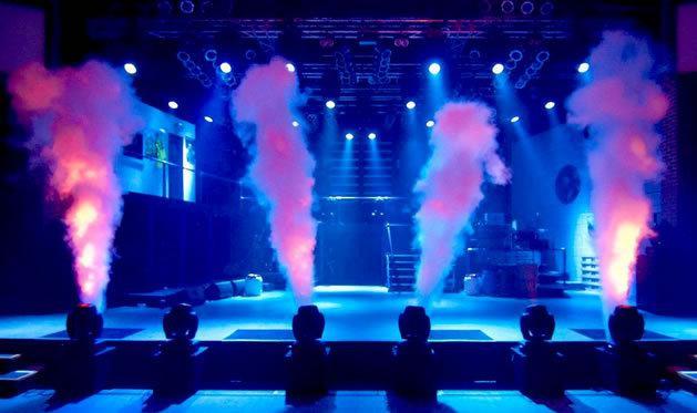 단일 파이프 이산화탄소 제트 기계 Dj Equpment 스테이지 DJ 효과 기계 DJ 파티 스테이지 효과