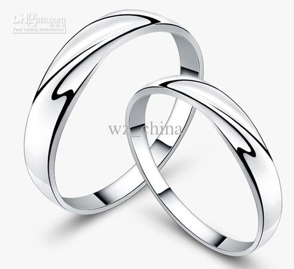 White Gold Women Rings 30% 925 Sterling Silver Wedding Jewelry Charms Austrian Crystal Engagement Couple Rings Ladies Gift Freeshipping