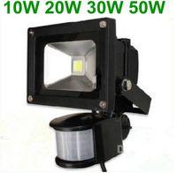 ingrosso proiettore del sensore di luce-Vendita calda! 10W / 20W / 30W PIR Motion Detective Sensore LED Flood luce Proiettore a led per esterni