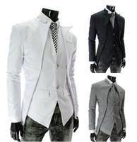 Wholesale slim suit small men - Free shipping - men's suits Korean Fashion Slim small suit jacket sportsman