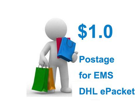 top popular Postage for DHL EMS China post epacket Free Shipping 2019