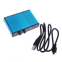 Wholesale External Sound Card Surround USB Powered Laptop Notebook PC Adapter Audio C339