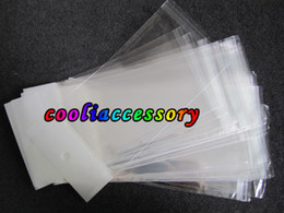 Wholesale Galaxy 4g Cases - Poly transparent clear Retail bag Packaging Package packing for Iphone 3G 4G 4 4s 5 5C 5S samsung galaxy S3 S2 S4 phone case cases 500pcs