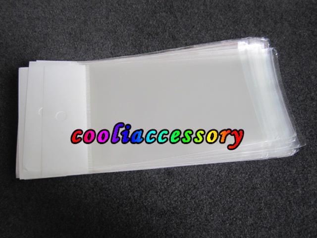 Poli şeffaf şeffaf Perakende çanta Ambalaj Paket ambalaj için Iphone 3G 4G 4 4 s 5 5C 5 S samsung galaxy S3 S2 S4 telefon kılıfı kılıfları 1000 adet