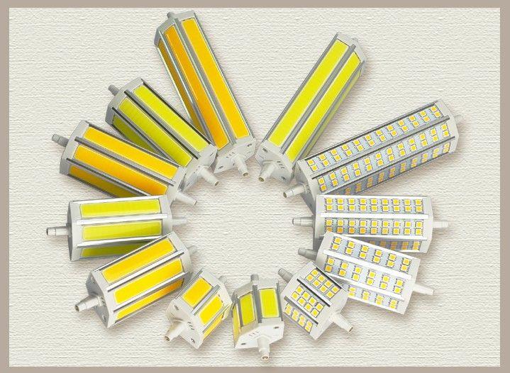 Großhandel dimmbare 10W COB R7S LED-Birnen-super helles 800-900LM R7S Base LED Licht der hohen Leistung Lampe 2 Jahre Garantie