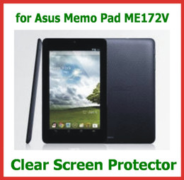 Asus Tablet Canada - 10pcs Customized Clear Screen Protector for 7 inch Tablet ASUS Memo Pad ME172V Size 191.5x115.5mm Guard Film