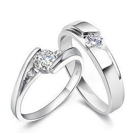 Venta al por mayor de 925 anillos de plata esterlina 1.25 CT HALO DIAMOND ANILLO DE EMPLEO BANDA DE BODA CONJUNTO G-H EGL USA 14K