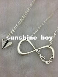 Wholesale Harry Bracelet - 30pcs Sale--INFINITY One Direction,forever Directioner & Paper airplane necklace Harry Styles Charm