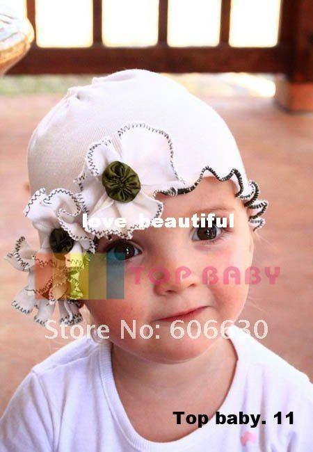 Wholesale-baby-hat-100pcs-Baby-Hat-and-Cap-Beanie-Baby-Cotton-Hat-Flower-Hat-Baby-spring.jpg