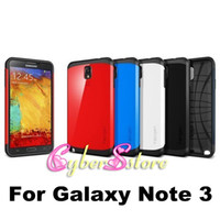 Wholesale Fashion Slim Armor Spigen SGP Neo hybrid Series shockproof Case Cover For Samsung Galaxy Note N9000 III Note