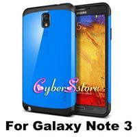 Wholesale Luxury Slim Armor Spigen SGP Neo hybrid Series shockproof Case Cover For Samsung Galaxy Note N9000 III Note