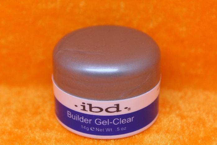 NEW IBD UV Builder Gel Nail Art Clear UV Gel 0.5oz / 14г лак для ногтей IBD