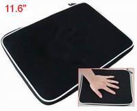funda negra macbook al por mayor-Alta calidad 5 piezas / lote nuevo bolso de la caja de la manga del ordenador portátil para 11