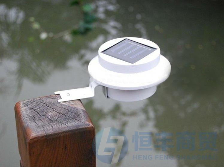 Christmas decoration Solar roof lights LED Solar Powered Fence Gutter Light Outdoor Garden Wall Lobby Pathway Lamp