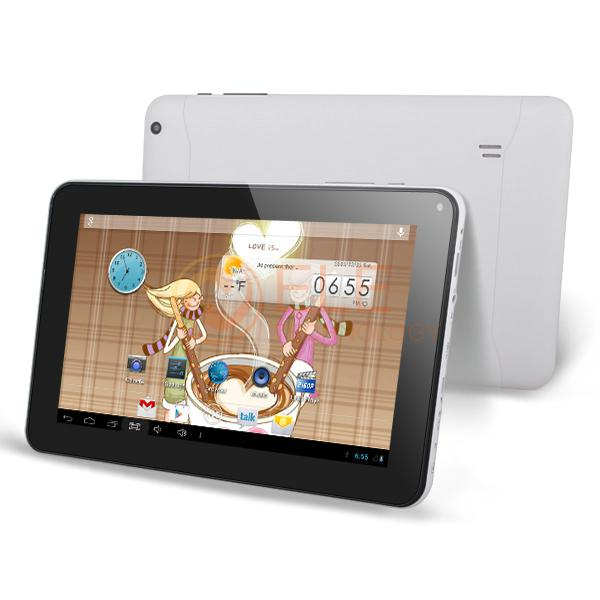 9 inch dual core Allwinner A33 Bluetooth Android 4.2 Tablet PC WIFI External 3G Cortex A8 Dual Camera