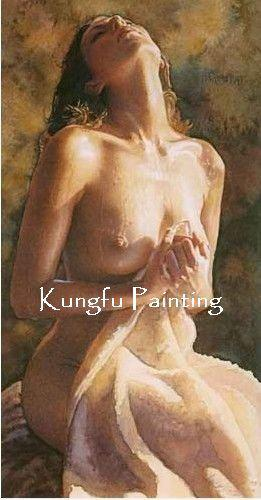 100 hand painted canvas discount nude body art sex art