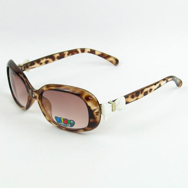 2016 Colorful carino ovale per bambini occhiali da sole bow tie ragazza bella bambini occhiali da sole UV400 20pcs / lot
