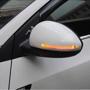 2018 Abs Car Door Side Mirror Cover Led Rearview Mirror